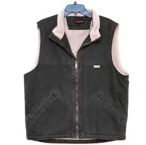 WOLVERINE VEST ZIP MENS LARGE A8